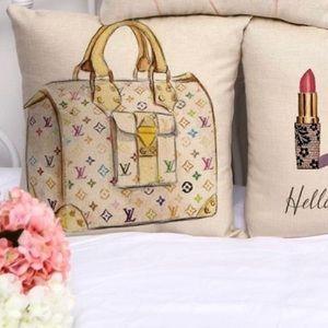 Louis Vuitton Style Pillow Case